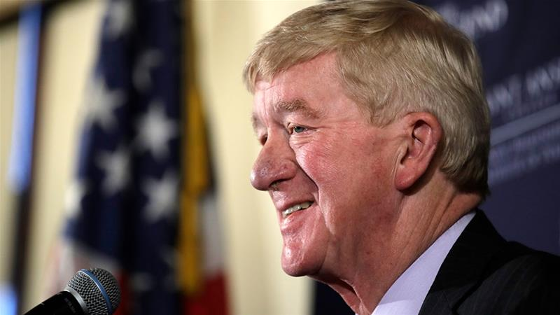 Weld's challenge marks the first against Trump by a member of his own party [File: Charles Krupa/AP Photo]