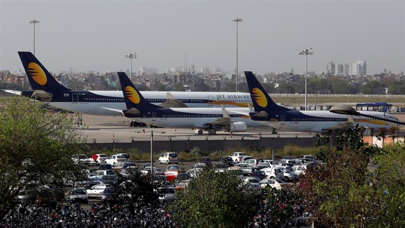 The airline said a consortium of lenders had turned down its request for emergency interim funding [File: Anushree Fadnavis/Reuters]