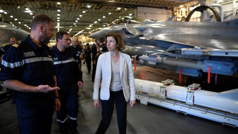 French weapons not used against civilians in Yemen: Minister