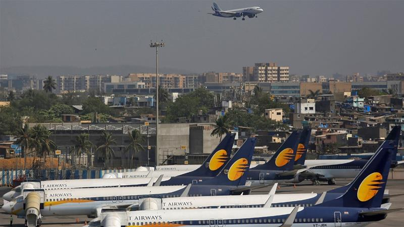 India grapples with failure of major airline