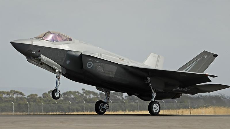 If Turkey were removed from the F-35 programme, it would be one of the most significant ruptures in recent history in the relationship between the two allies, experts say [File: Scott Barbour/Getty Images]