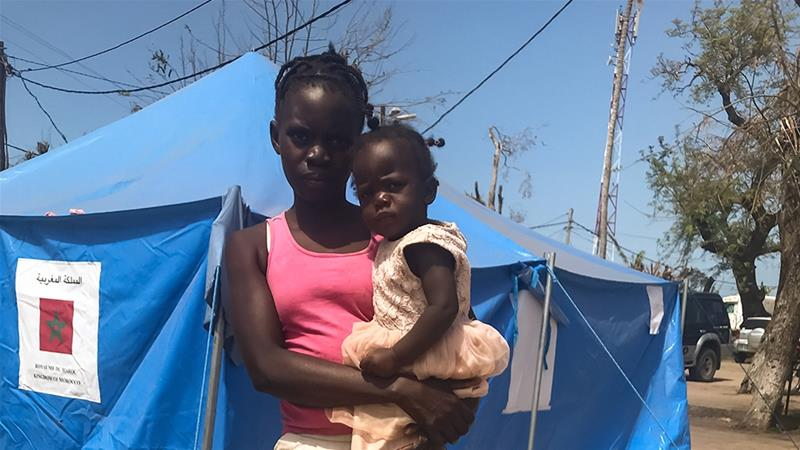 Sara Francisco lost her husband, mother and six siblings in the floods following Cyclone Idai [Fidelis Mbah/Al Jazeera]