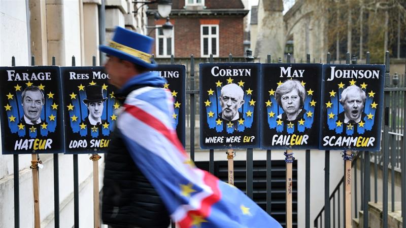 The EU has warned a no-deal departure from the bloc [File: Isabel Infantes/AFP]