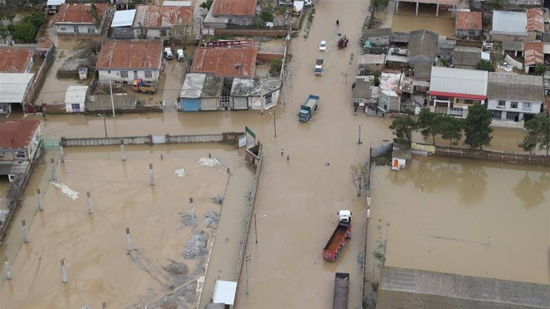 Floods have killed 45 began about two weeks ago in northern Iranian provinces of Golestan and Mazandaran, and later spread [File: Anadolu]