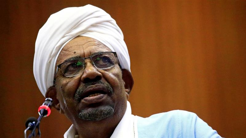 Sudan investigating Bashir after large sums of cash found at home