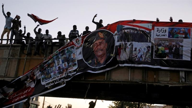 Sudan's military leader vows to hand 'power to people'
