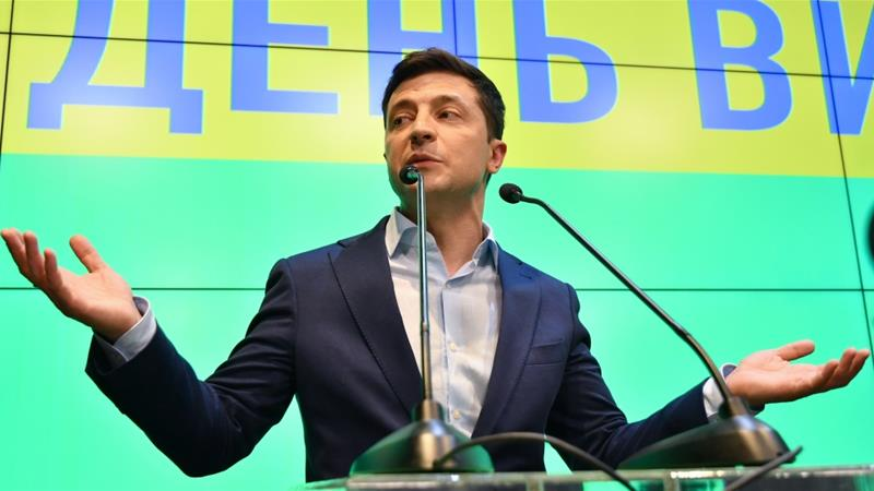 Is Zelensky up to the president's job?