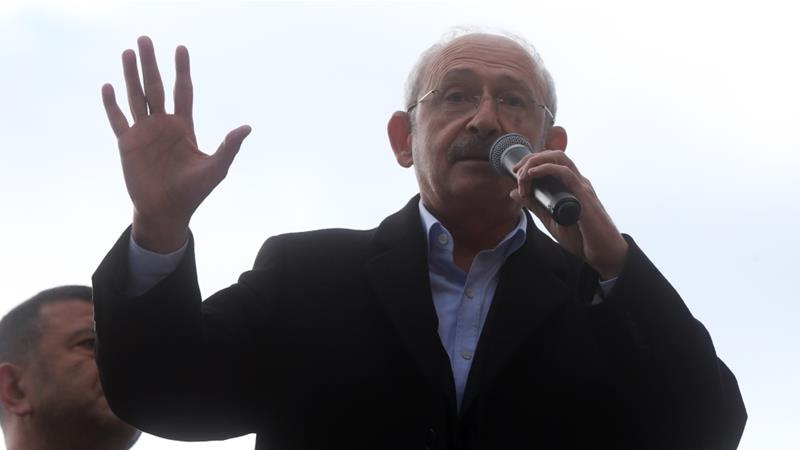 The attack on Kilicdaroglu came days after the main opposition CHP party won the mayoral races in Ankara and Istanbul  [Anadolu]