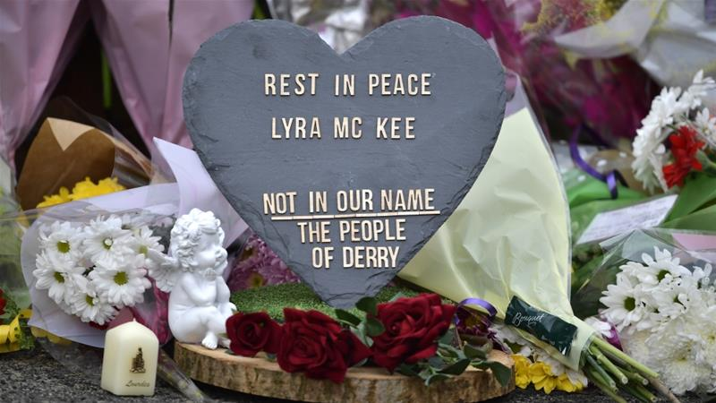 Police in Northern Ireland arrest two suspects over journalist Lyra McKee's killing