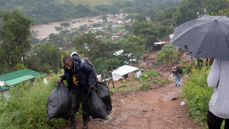 More than 60 dead in South Africa floods