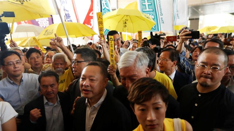 Hong Kong's 'Occupy Central' activists handed down prison terms