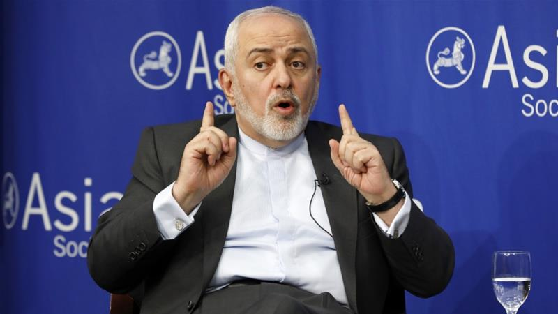 Iran's Zarif warns US of 'consequences' over oil sanctions