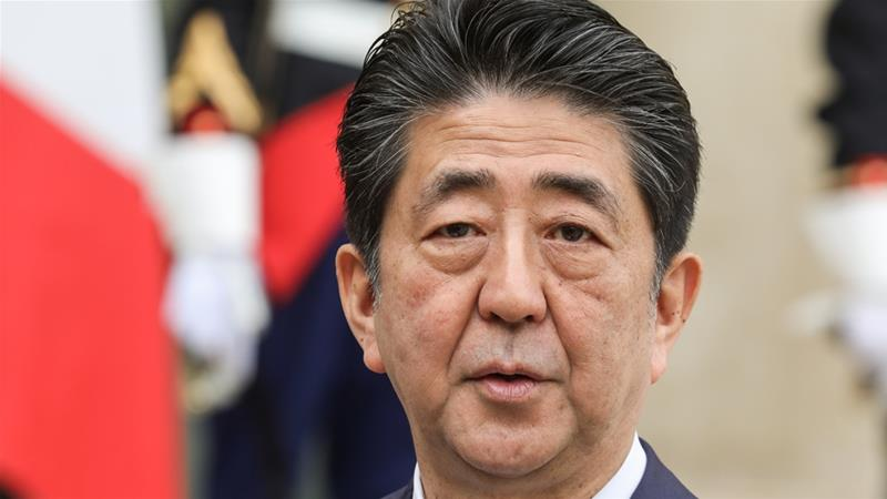 Japanese Prime Minister Shinzo Abe will use his close ties to both Iran and the US to try to restore stability in the Gulf region during his trip to Iran this week, analysts say {File: Ludovic Marin/AFP]