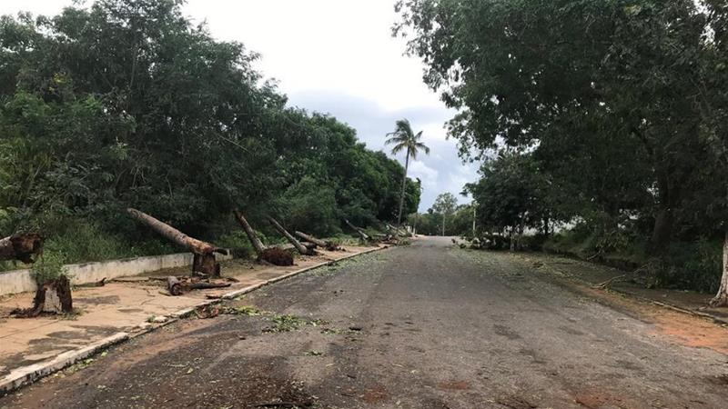 Deadly cyclone leaves trail of destruction across Mozambique