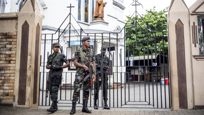 The report accused President Maithripala Sirisena of 'actively undermining' national security apparatus before Easter bombings [File: Jewel Samad/AFP]