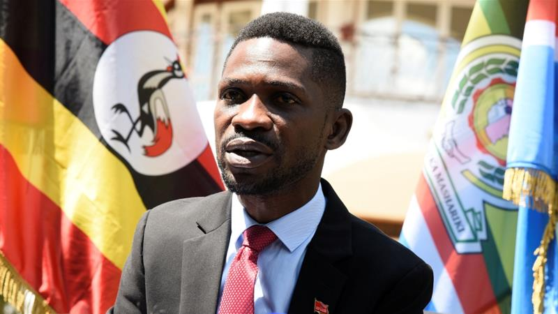 Authorities have recently stepped in to prevent Kyagulanyi from giving concerts [Newton Nambwaya/Reuters]
