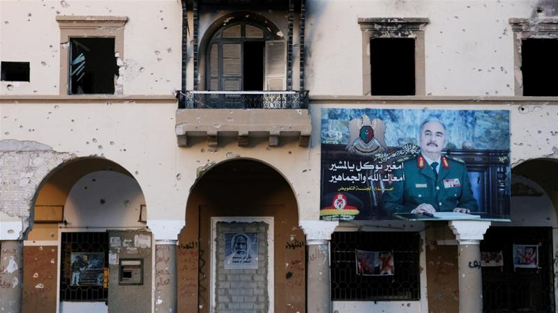 Pro-Haftar militia forces reach outskirts of Tripoli