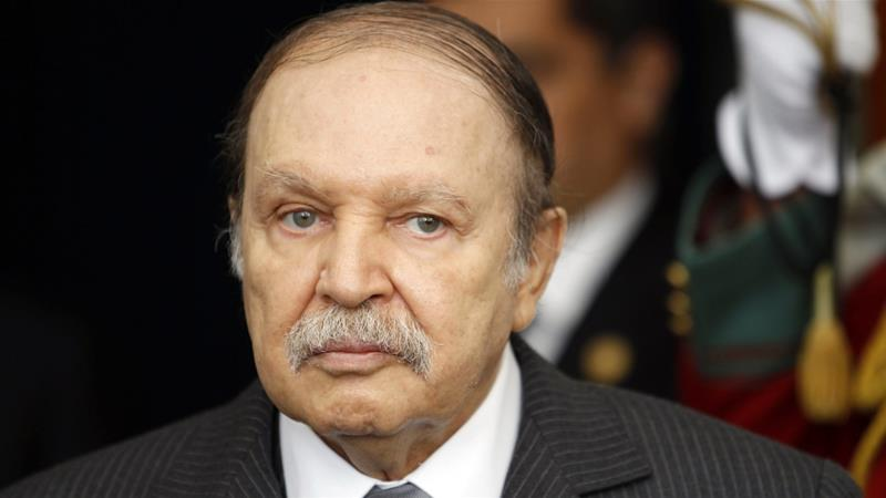 Algeria's President Abdelaziz Bouteflika is seen at the presidential palace in Algiers in 2011 [File: Louafi Larbi/Reuters]