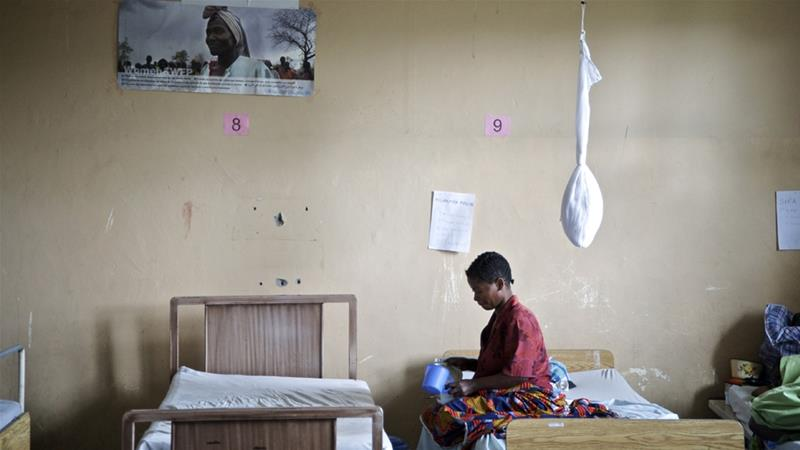 A 2011 study claimed 48 women were raped every hour in the DRC [File: Alissa Everett/Reuters]
