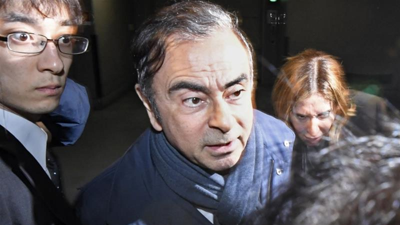 Prosecutors are looking into allegations that Ghosn syphoned off some $5m from funds allegedly transferred from Nissan to a dealership in Oman [File: Reuters]