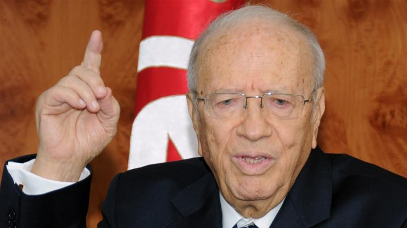 Beji Caid-Essebsi, who has been in power since late 2014, said he had not made a final decision but that the country 'deserves change' [File: Hassene Dridi/AP]