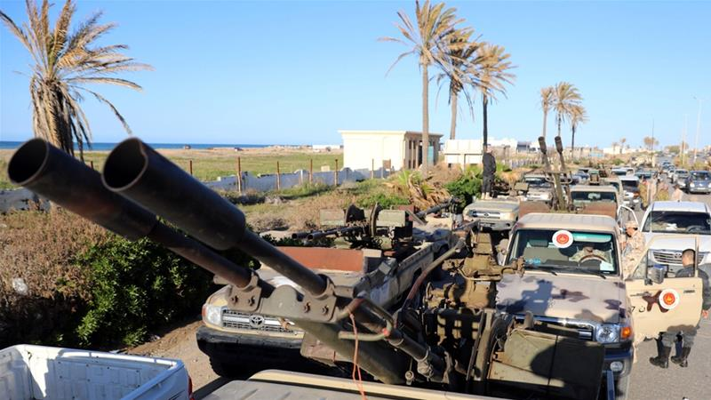 As Haftar meets Sisi, GNA forces shoot down LNA fighter jet