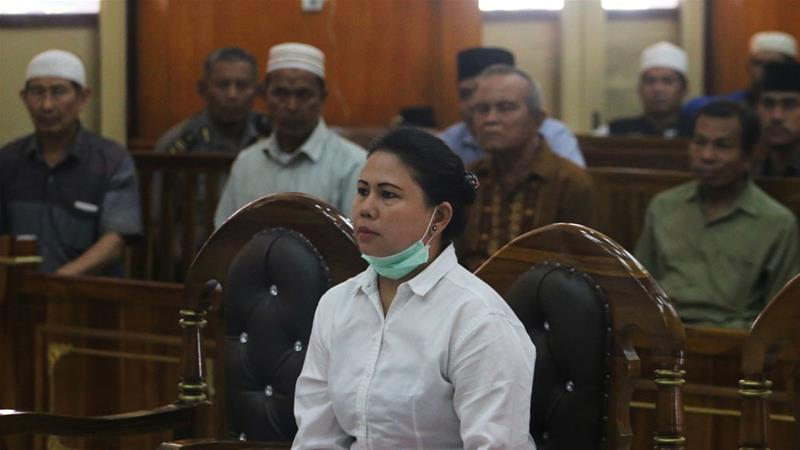 Sibarani said there was insufficient evidence against Meiliana to warrant a custodial sentence [Antara Foto/Irsan Mulyadi via Reuters]