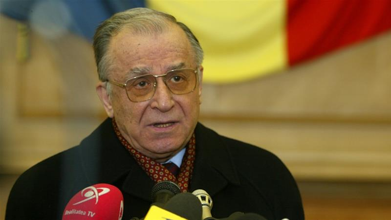 Ion Iliescu, who seized power in the uprising, has always denied any wrongdoing [File: Reuters]