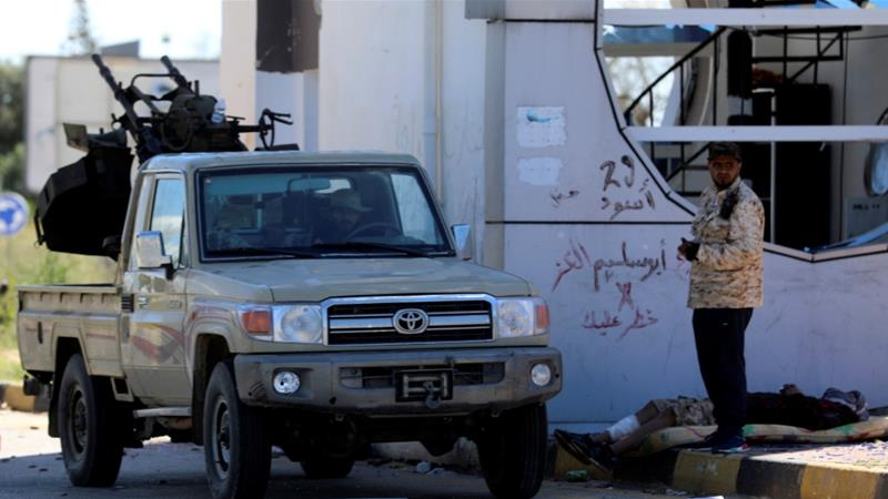 There has been heavy fighting near Tripoli since the assault began