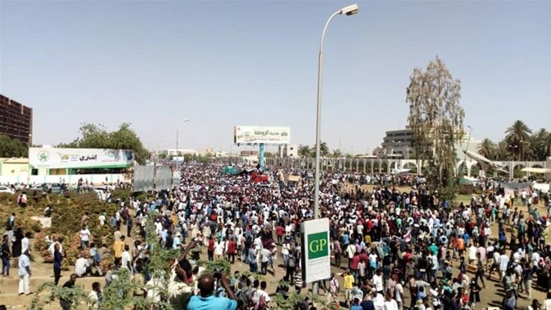 Sudan security forces 'fire tear gas' at protesters in Khartoum