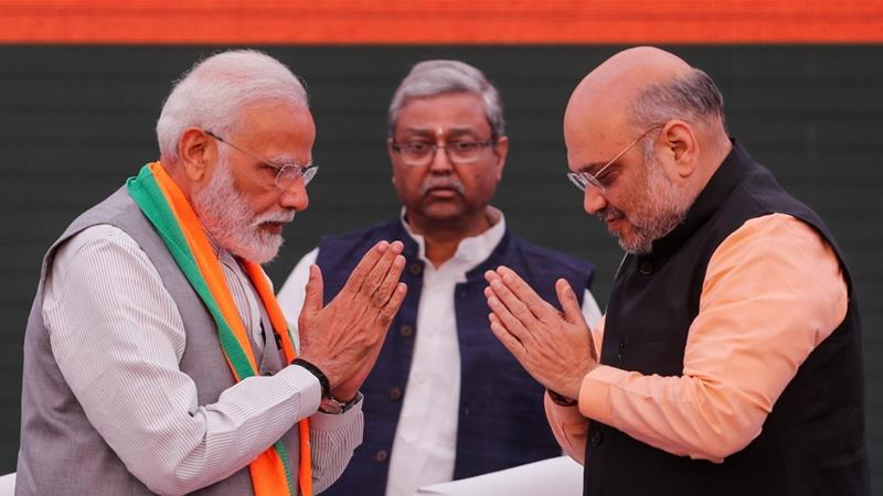 India's BJP releases manifesto before elections