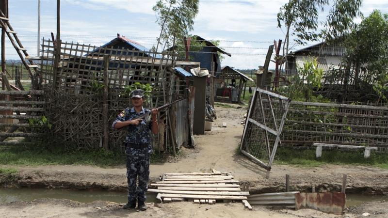 The Arakan Army is fighting for more autonomy for ethnic Rakhine Buddhists in a state infamous for the 2017 military crackdown against its Muslim-majority Rohingya [File: Min Kyi Thein/AP]