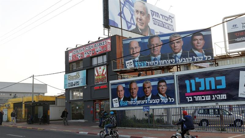 Netanyahu set to edge victory in tied election