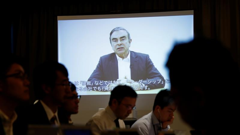 Nissan's shareholders voted and want Carlos Ghosn, baby, gone, report says