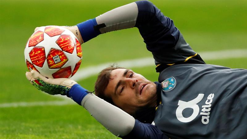 World Cup winner Casillas 'feeling strong' after heart attack
