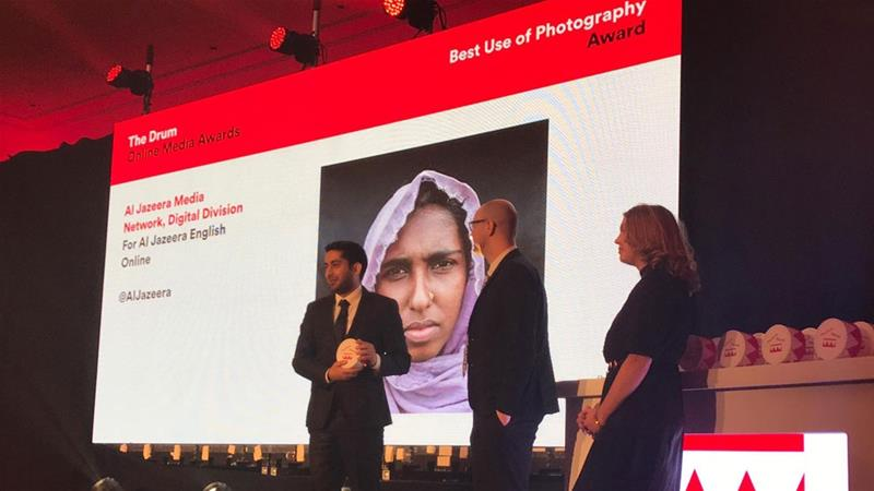 Al Jazeera's 100 Faces of Rohingya wins Drum Online Media Award