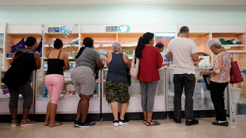 Cuba launches widespread rationing amid economic crisis