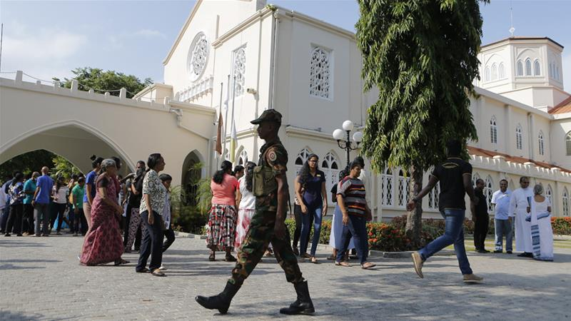 Mosques attacked in Sri Lanka town