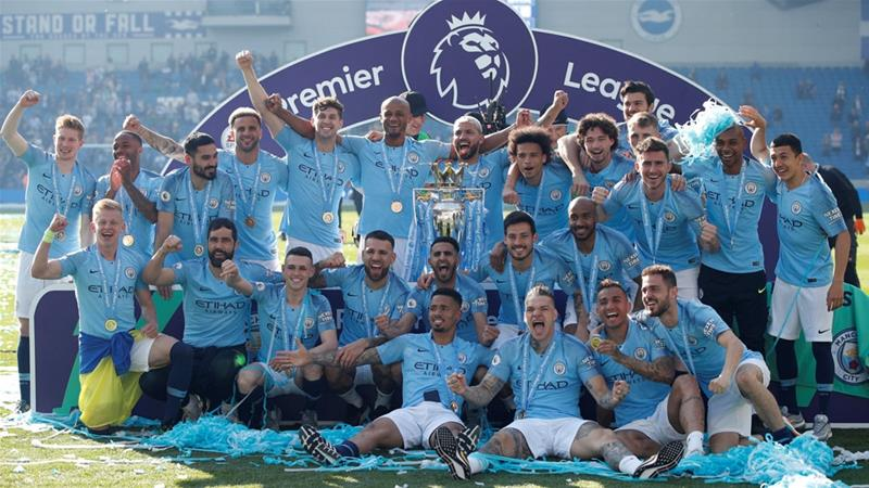 Manchester City retain English Premier League title