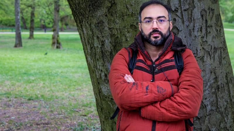 Author and blogger Iyad el-Baghdadi was taken into protective custody in Norway, after the CIA warned of a threat by Saudi Arabia [Ole Berg-Rusten/NTB Scanpix/Reuters]