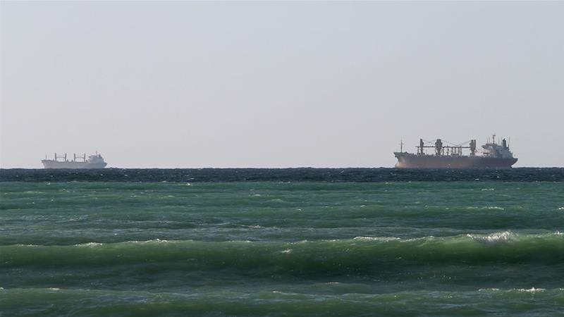 Who can secure shipping lines in the Gulf?