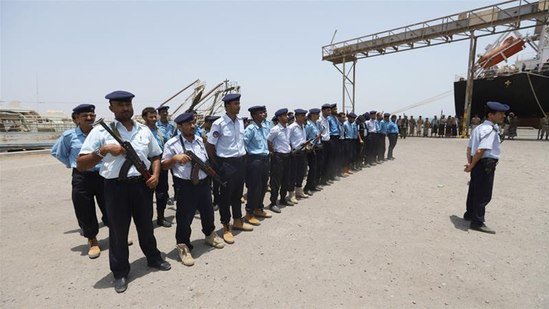 UN: Houthis withdraw from key Red Sea ports 'partly as