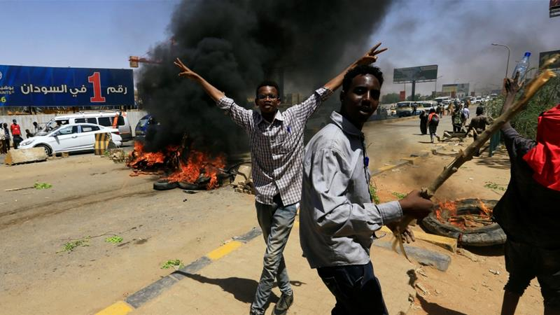 Sudan military rulers suspend talks on civil administration