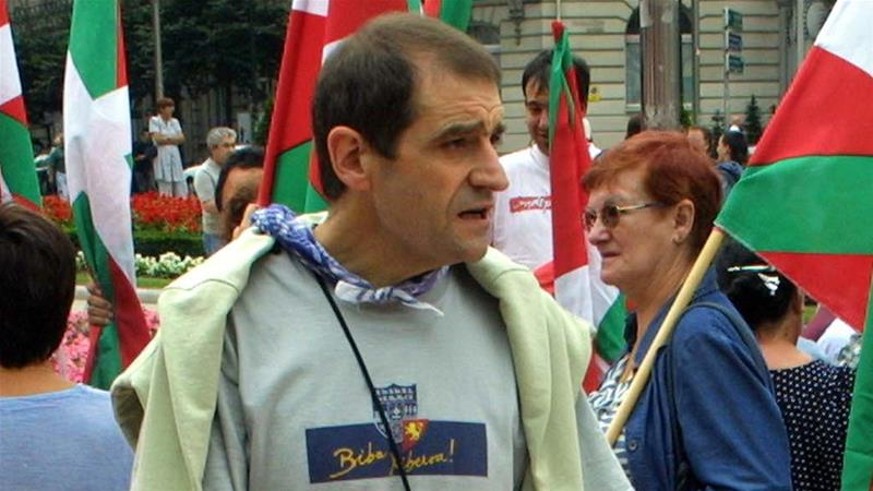 Ternera is a former leader of the Basque separatist group ETA [File: Rafa Rivas/AFP]