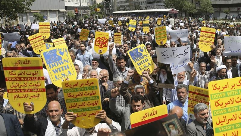 Top Iranian legislator calls for Iran-US talks 'to end