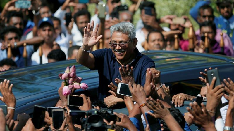 Gotabaya Rajapaksa confirms presidential run in anxious Sri Lanka