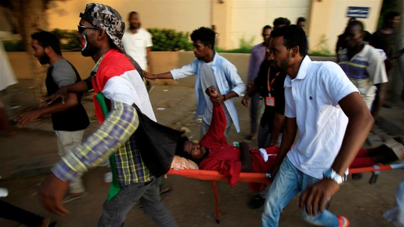 More than 90 protesters have been killed since the protests against former leader Omar al-Bashir erupted, according to the Central Committee of Sudanese Doctors [Reuters]