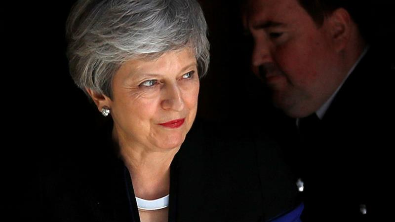Theresa May has said she would resign if her Brexit deal is approved [Peter Nicholls/Reuters]
