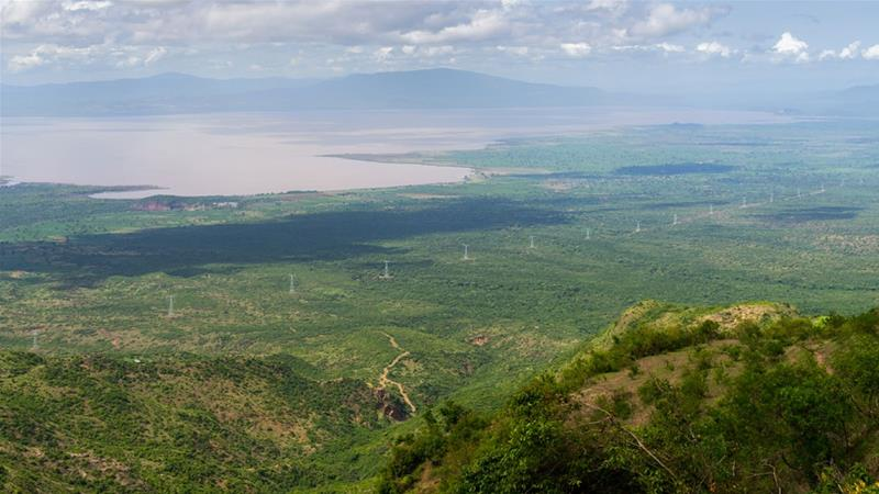 Drop in water levels at Gibe dam led to a deficit of 476 megawatts, more than a third of Ethiopia's electricity generation [Eric Lafforgue/Getty Images]