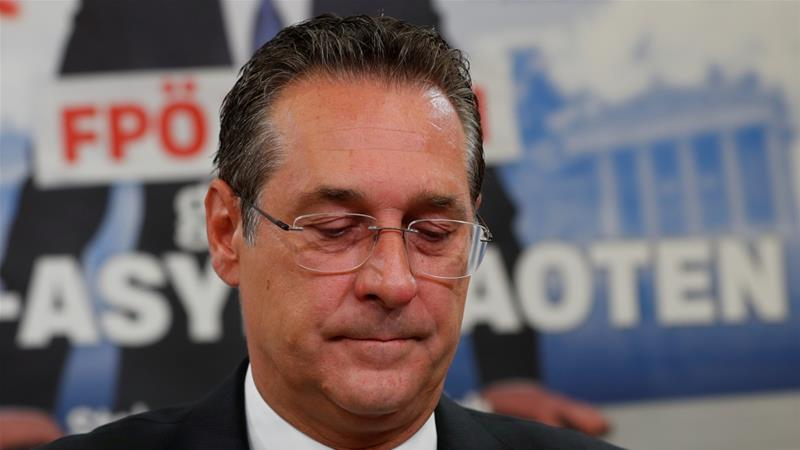 Strache occupies the second-highest position in government [File: Leonhard Foeger/Reuters]